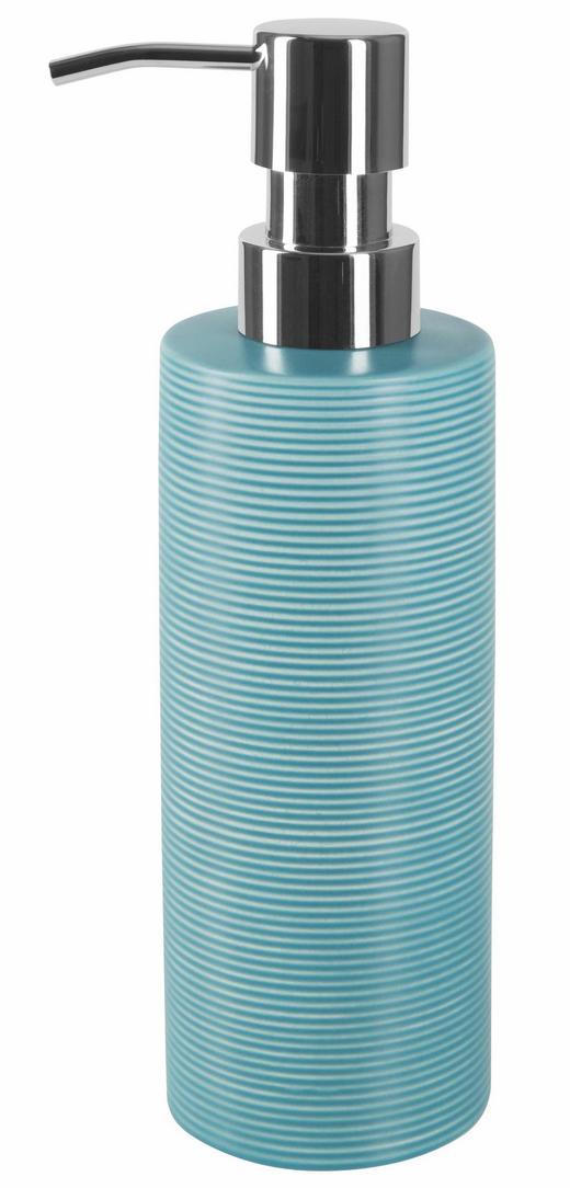SEIFENSPENDER Stein - Blau, Design, Stein (6/21,5/6cm) - SPIRELLA