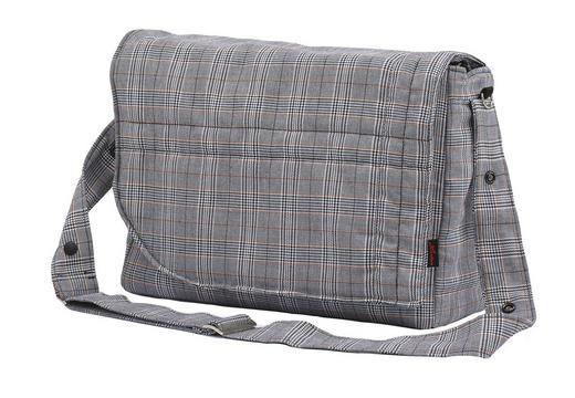 WICKELTASCHE - Hellgrau/Grau, KONVENTIONELL, Textil (41/14/27cm) - Hartan