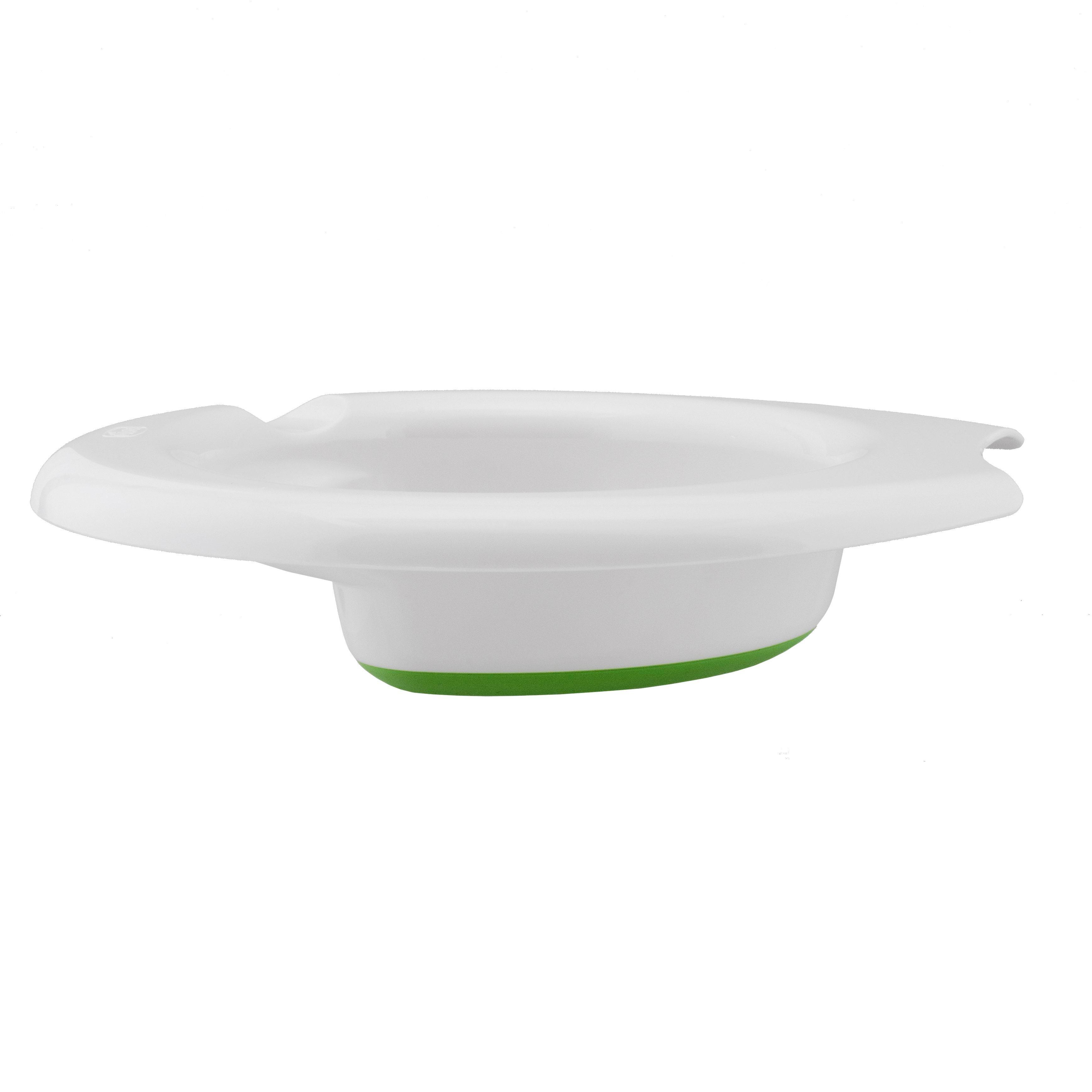 TANJUR ZA ZADRŽAVANJE TOPLINE - bijela/zelena, Basics, plastika (1/17/2cm) - CHICCO