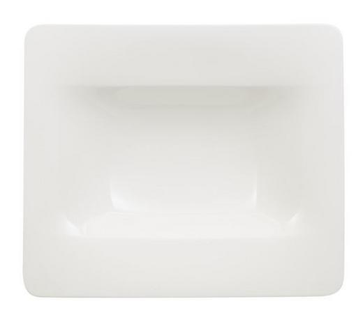 SUPPENTELLER Bone China - Weiß, Basics, Keramik (24/24cm) - Villeroy & Boch