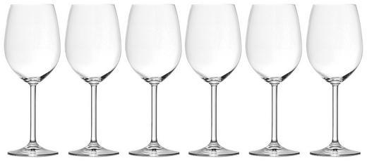 Rotweinglas-Set 6-teilig - Klar, Basics, Glas (0,47cm) - Leonardo