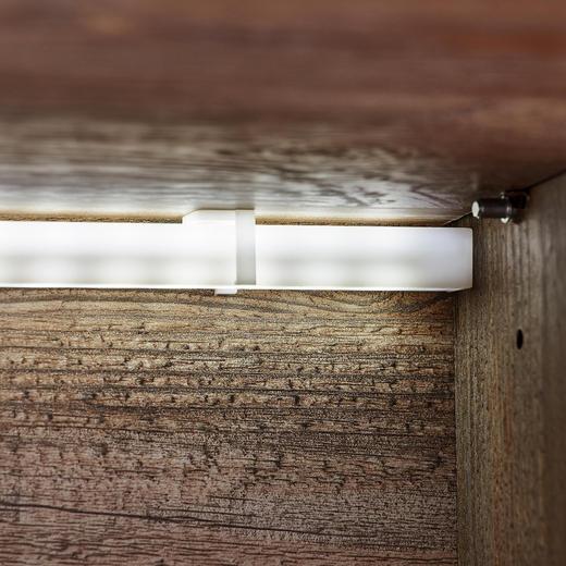EINLEGEBODENBELEUCHTUNGS-SET 2-teilig - Weiß, Basics, Kunststoff (je 58,3cm) - Carryhome