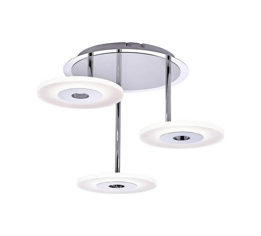 LED-DECKENLEUCHTE - Weiß, Design, Metall (60cm) - Ambiente