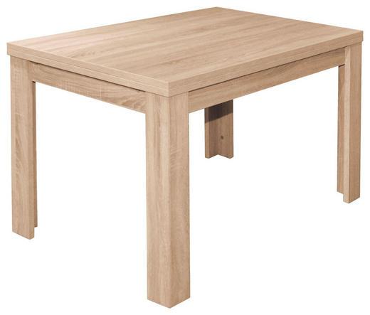 ESSTISCH in Holzwerkstoff 120(176)/80/78 cm - Eichefarben, KONVENTIONELL, Holzwerkstoff (120(176)/80/78cm) - Carryhome