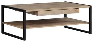 COUCHTISCH in Metall, Holzwerkstoff 110/60/40 cm   - Fichtefarben/Dunkelgrau, Design, Holzwerkstoff/Metall (110/60/40cm) - Carryhome