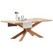 JÍDELNÍ STŮL, masivní, akácie, barvy dubu - barvy dubu, Natur, dřevo (200/100/76cm) - Hom`in
