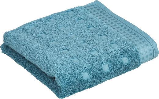 HANDTUCH 50/100 cm - Türkis, Basics, Textil (50/100cm) - Vossen