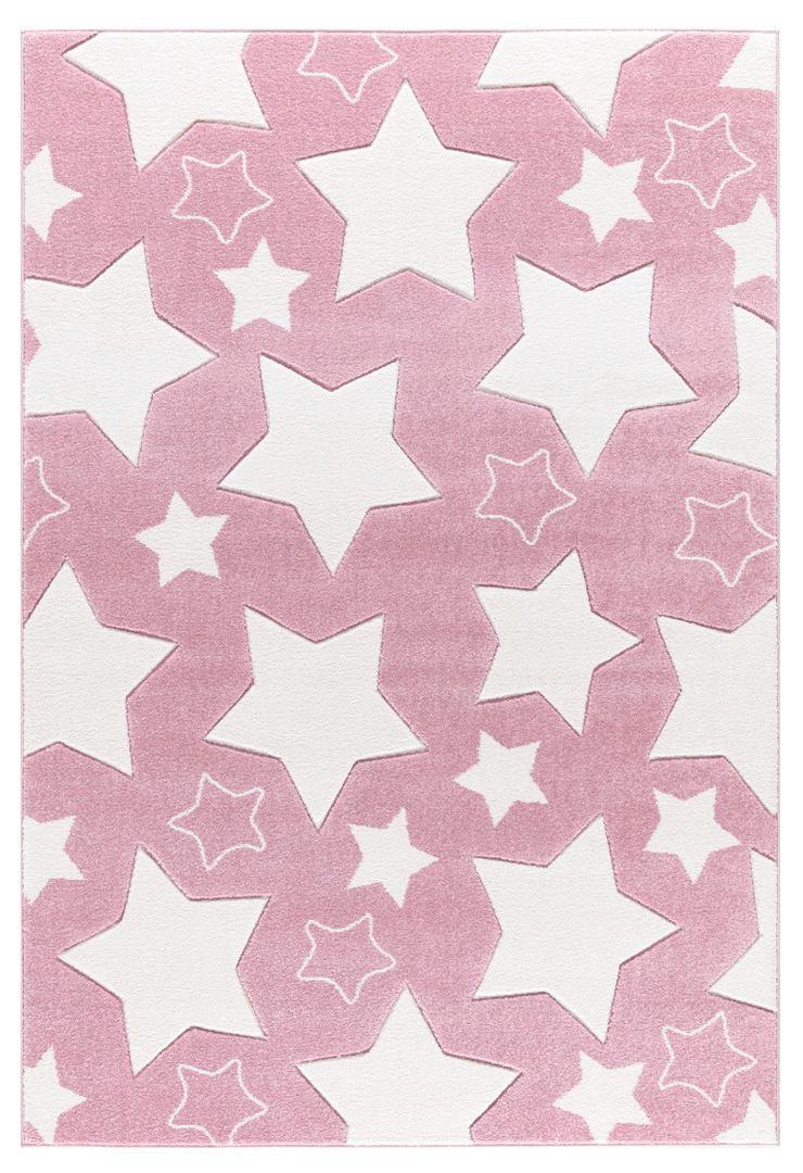 KINDERTEPPICH  Rosa  120/180 cm - Rosa, Textil (120/180cm)