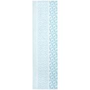 TISCHLÄUFER 40/140 cm - Hellblau, Design, Textil (40/140cm) - NOVEL