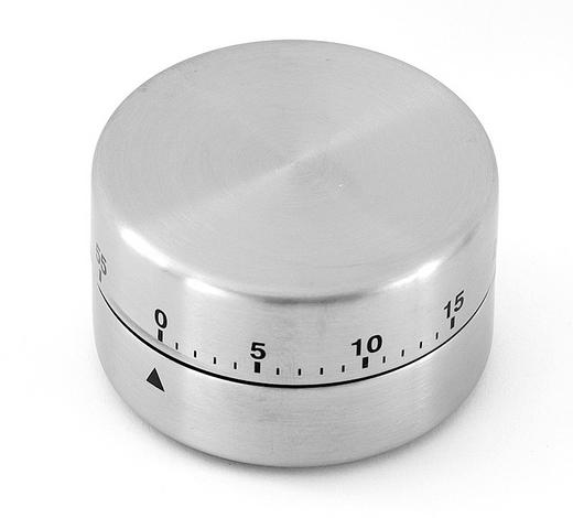 KURZZEITWECKER - Silberfarben, Basics, Metall (1cm) - HOMEWARE