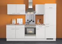 KÜCHENBLOCK E-Geräte, Spüle, Soft-Close-System   - Weiß, KONVENTIONELL (270cm) - Xora