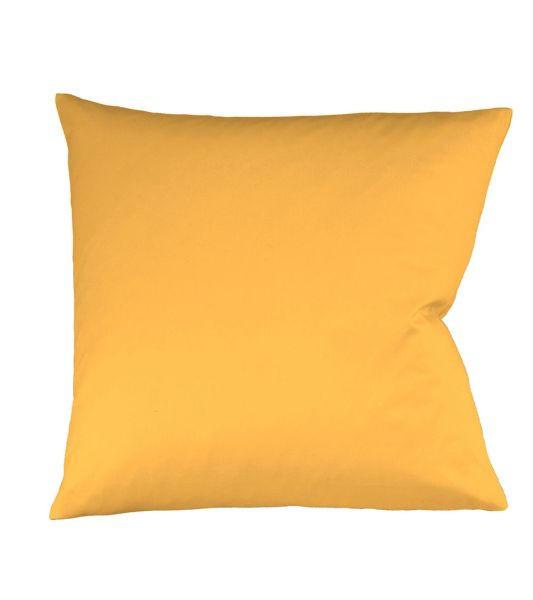 KISSENHÜLLE Goldfarben 40/40 cm - Goldfarben, Basics, Textil (40/40cm) - FLEURESSE