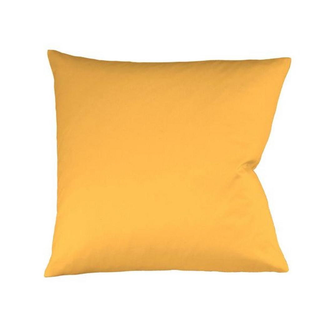 FLEURESSE KISSENHÜLLE Gold 40/40 cm