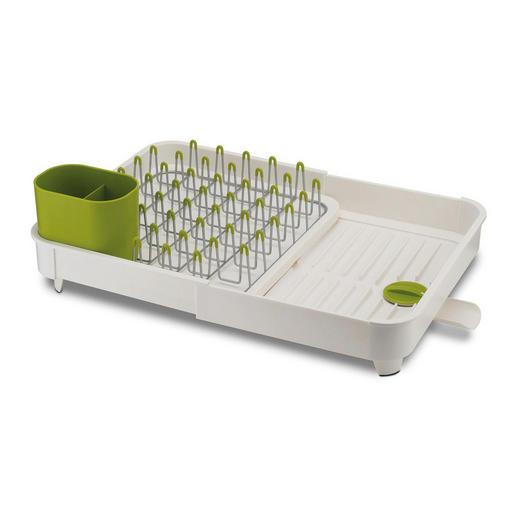 CJEDILO ZA SUDOPER - bijela/zelena, Basics, metal/plastika (53/36,5/16cm)