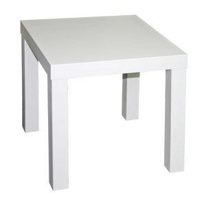 STOČIĆ ZA KAFU - Bela, Dizajnerski, Pločasti materijal (45/45/45cm) - Boxxx