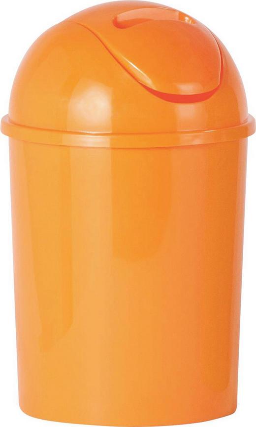 ABFALLEIMER 5 L - Orange, Basics, Kunststoff (19/31cm)