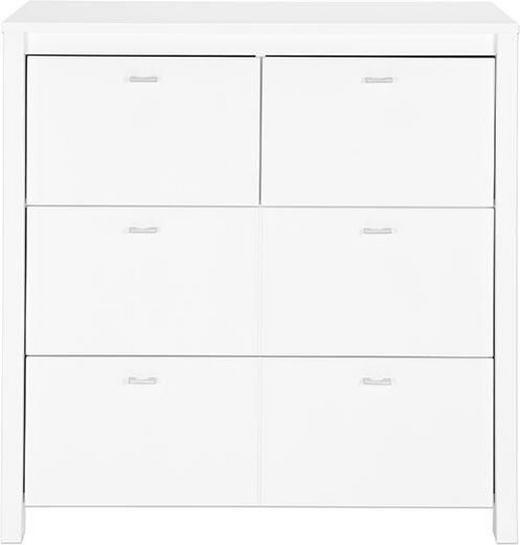 WICKELKOMMODE JULIA - Alufarben/Weiß, Trend, Holzwerkstoff/Metall (92,8/95/50cm) - My Baby Lou