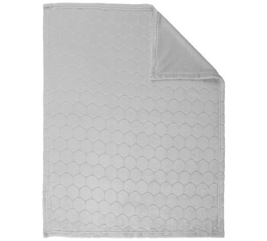SCHMUSEDECKE - Silberfarben, Basics, Textil (75/100cm) - My Baby Lou