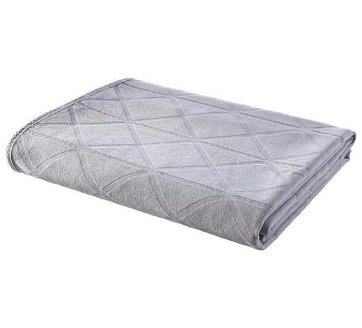 DECKE 140/200 cm Silberfarben  - Silberfarben, Design, Textil (140/200cm) - Ambiente