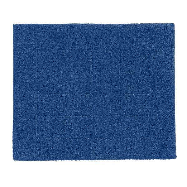 Badematte 55 x 65  Dunkelblau  55/65 cm - Dunkelblau, Basics, Kunststoff/Textil (55/65cm) - VOSSEN