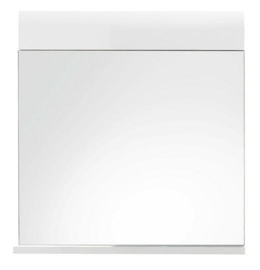 WANDSPIEGEL Weiß - Weiß, Design, Glas/Holzwerkstoff (60/55/10cm) - XORA