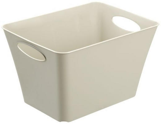 BOX Kunststoff Creme - Creme, Basics, Kunststoff (43,1/32,1/26cm)