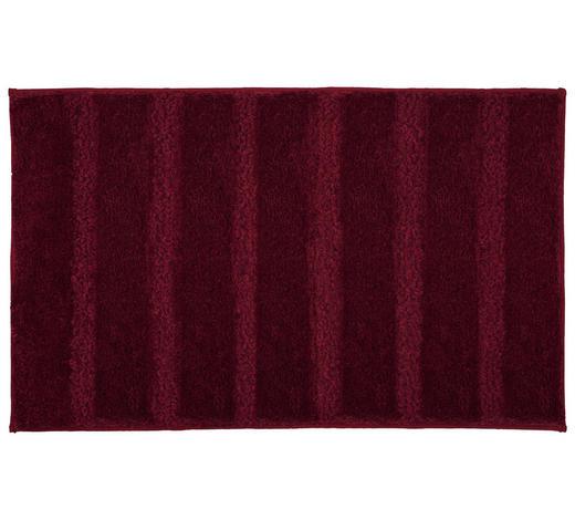 BADTEPPICH in Dunkelrosa 60/100 cm - Dunkelrosa, KONVENTIONELL, Kunststoff/Textil (60/100cm) - Kleine Wolke