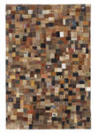 LEDERTEPPICH  140/200 cm  Hellgrau, Naturfarben - Hellgrau/Naturfarben, Basics, Textil (140/200cm) - Novel