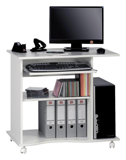 COMPUTERTISCH Weiß - Weiß, Design, Kunststoff (80/75/50cm)