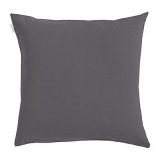 KISSENHÜLLE Schieferfarben 50/50 cm - Schieferfarben, Basics, Textil (50/50cm) - LINUM