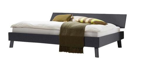 BETT 180/200 cm - Graphitfarben, Design (180/200cm) - Carryhome