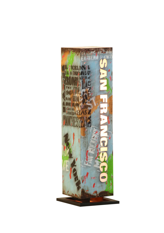 SVJETILJKA DEKORATIVNA - višebojno, Design, metal (27/90/27cm) - LANDSCAPE