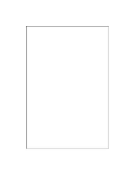 PASSEPARTOUT in Weiß - Weiß, KONVENTIONELL, Papier (40/50/0.3cm)