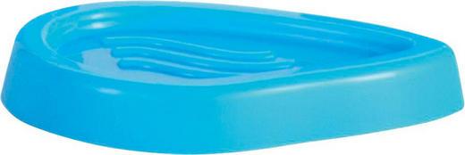 SEIFENSCHALE Kunststoff - Hellblau, Basics, Kunststoff (13,5/2/8,5cm)