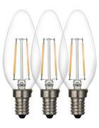 LED ŽÁROVKA - čiré, Basics, kov/sklo (3,7/9,8cm) - Boxxx
