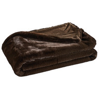 FELLDECKE 150/200 cm - Braun, Basics, Textil (150/200cm) - Ambiente