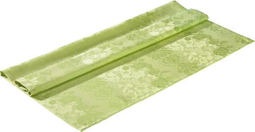 TISCHDECKE Textil Jacquard Hellgrün 100/100 cm - Hellgrün, Basics, Textil (100/100cm)
