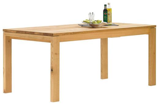ESSTISCH Asteiche massiv Eichefarben - Eichefarben, Design, Holz (90/180/78cm) - MUSTERRING