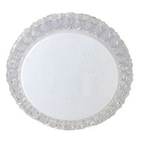 LED STROPNÍ SVÍTIDLO - bílá, Lifestyle, kov/umělá hmota (20/6,5/cm) - Novel