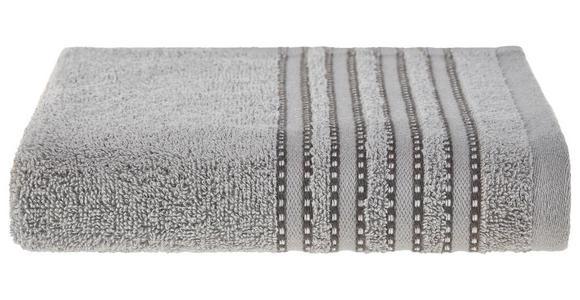 Handtuch Anna - Grau, MODERN, Textil (50/90cm) - Luca Bessoni