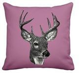 KISSENHÜLLE Pink 45/45 cm  - Pink, KONVENTIONELL, Textil (45/45cm) - Landscape