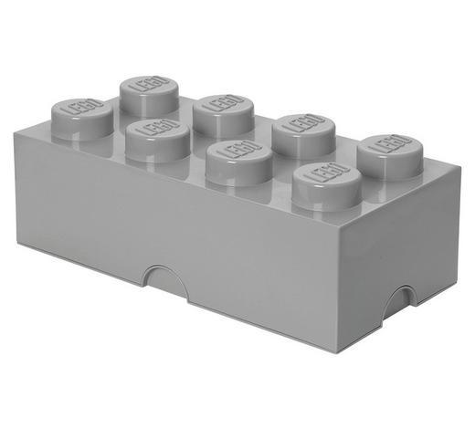 AUFBEWAHRUNGSBOX 50/25/18 cm - Grau, Trend, Kunststoff (50/25/18cm) - Lego
