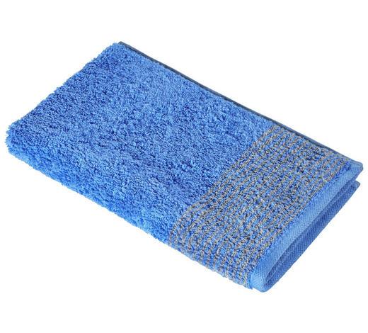 GÄSTETUCH 30/50 cm  - Blau, KONVENTIONELL, Textil (30/50cm) - Cawoe