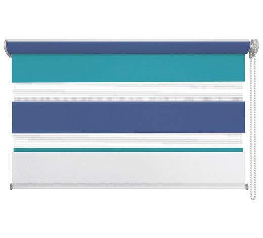 DUOROLLO    80/210 cm   - Blau/Weiß, Basics, Kunststoff (80/210cm)