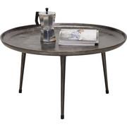 COUCHTISCH in Grau - Grau, Design, Metall (75/40cm) - XORA
