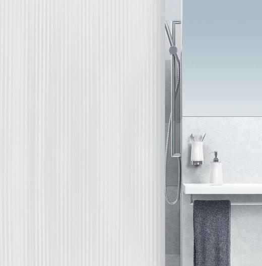 DUSCHVORHANG - KONVENTIONELL, Kunststoff (180/200cm) - Spirella
