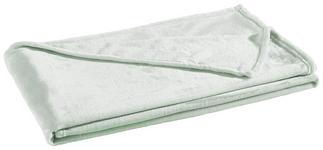 WOHNDECKE 140/190 cm Mintgrün  - Mintgrün, KONVENTIONELL, Textil (140/190cm) - Novel