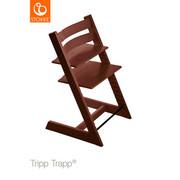 Hochstuhl Tripp Trapp - Dunkelbraun, Lifestyle, Holz (46/79/49cm) - Stokke