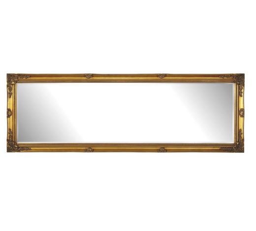 ZRCADLO, obdélníkové - barvy zlata, Lifestyle, dřevo (50/150/3,3cm) - Landscape