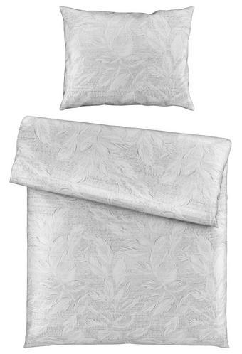 BETTWÄSCHE 140/200 cm - Silberfarben, LIFESTYLE, Textil (140/200cm) - Novel